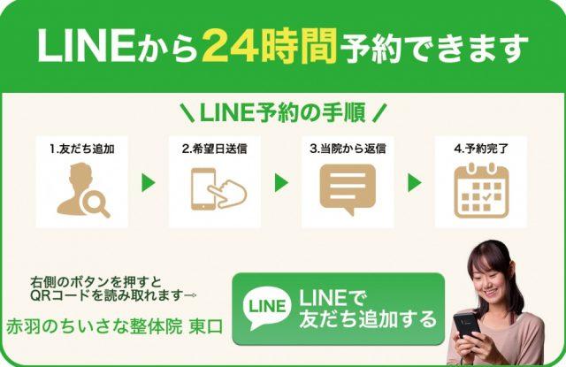LINE予約東口