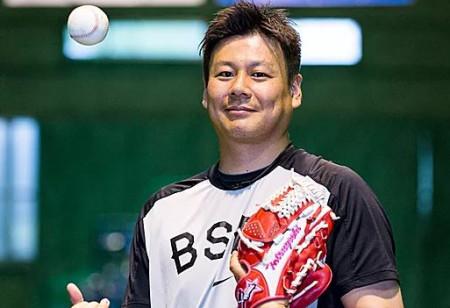 元プロ野球選手増渕竜義さん